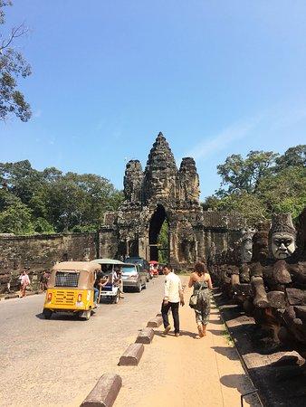 Beginning of Angkor Thom