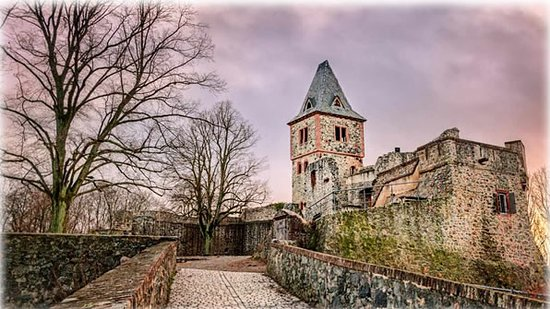 Frankenstein Castle in Darmstadt, Germany