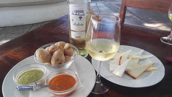 La Geria, Spain: Delicioso vino Rubicón