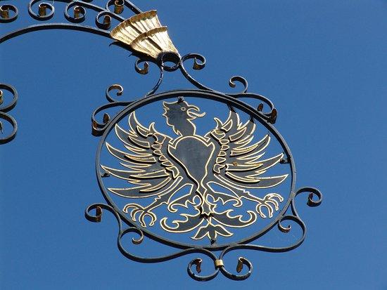 Rammingen, Allemagne : Daas Wahrzeichen des Hauses
