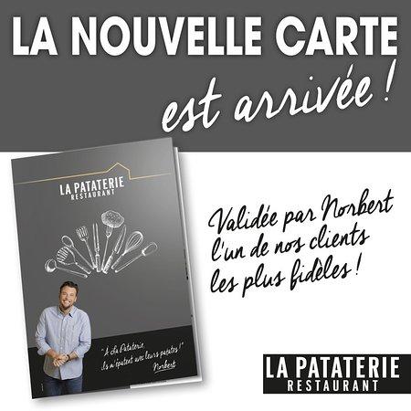 Redon, France : La nouvelle carte avec  Norbert