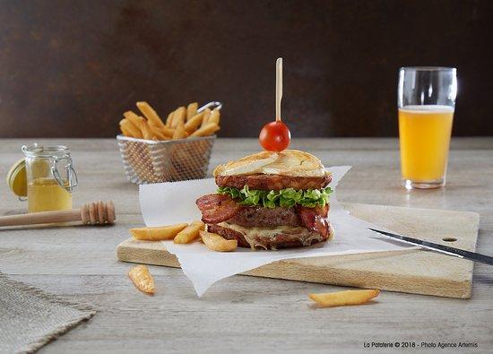 Redon, France : Le patata Burger