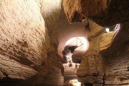 open cave room