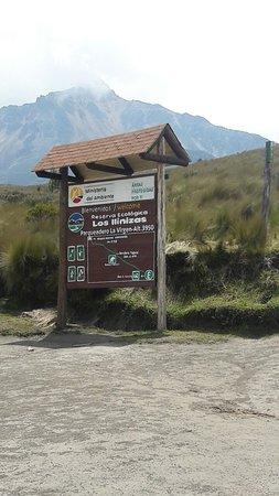 Machachi, Ekwador: Reserva Ecologica Los Ilinizas