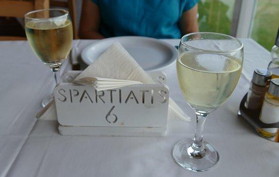 Spartiatis Restaurant: Spartiati Tisch 6