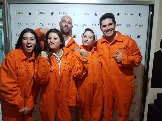 FOBIA escape room