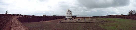 Sinquerim, India: Light House