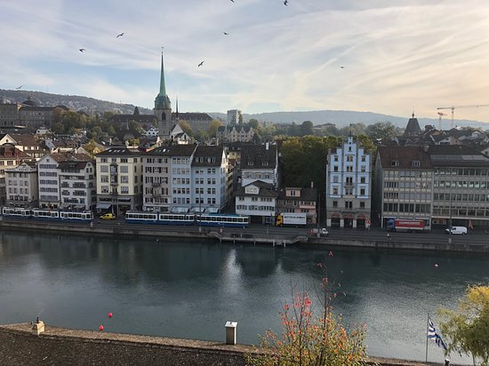 Window View - Hotel Montana Zurich Photo
