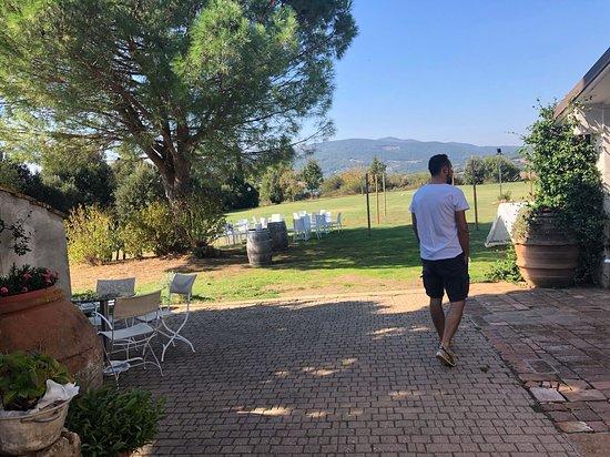 Campagnatico, Ιταλία: Esterno ristorante