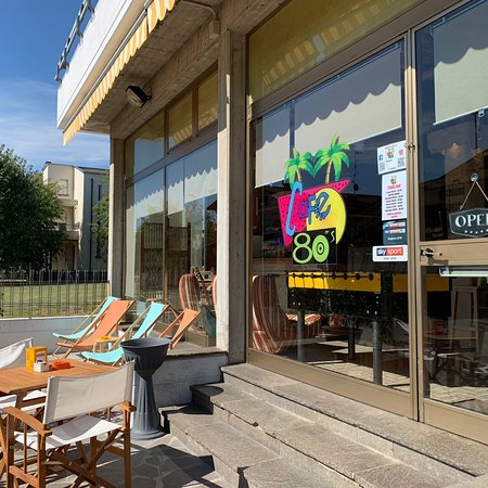 Cavriago, Italien: Cafe 80's