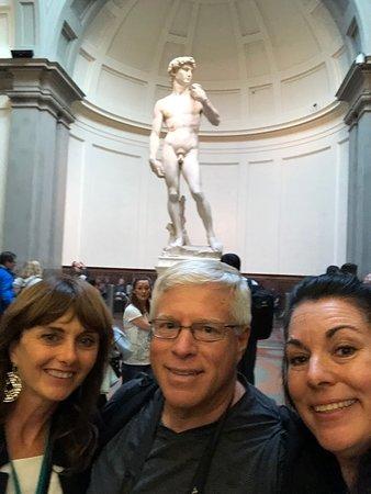 Privétour: Overzicht van de Florence Walking Tour: Yup...The David.....