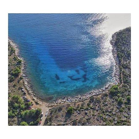 Koromasna beach Jezera