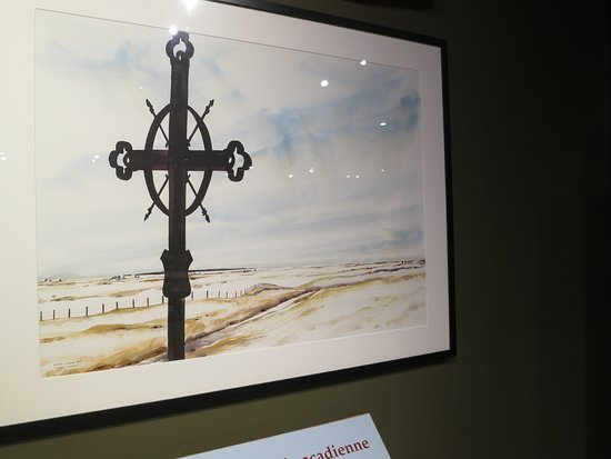 Grand Pre, Canada: Acadian Cross
