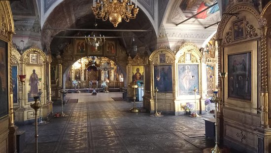 Palekh, รัสเซีย: в храме