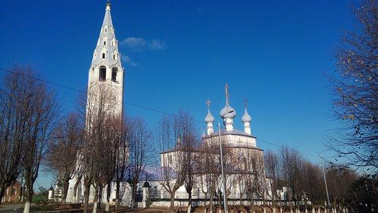 Palekh, รัสเซีย: церковь