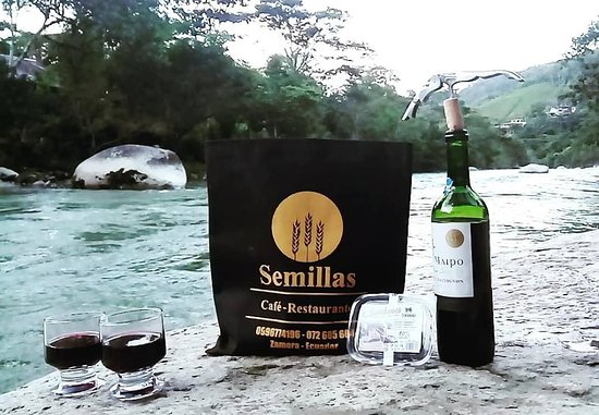 Semillas Cafe Restaurante ubicado en Zamora, Pulmones del Ecuador.