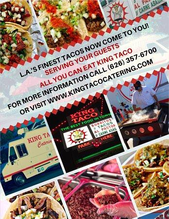 Pico Rivera, كاليفورنيا: King Taco Catering 