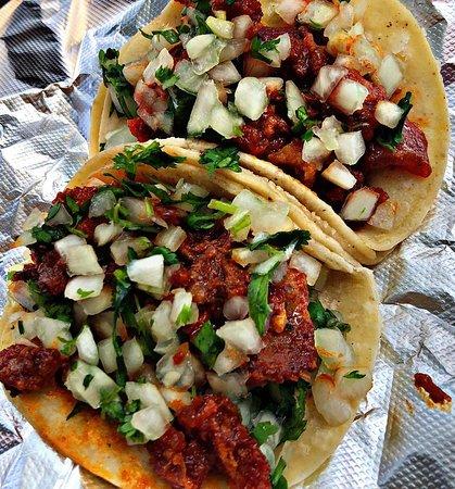 Pico Rivera, كاليفورنيا: Tacos de Chicharron 