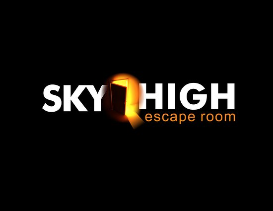 Almere, Niederlande: Sky High Escape Room Logo