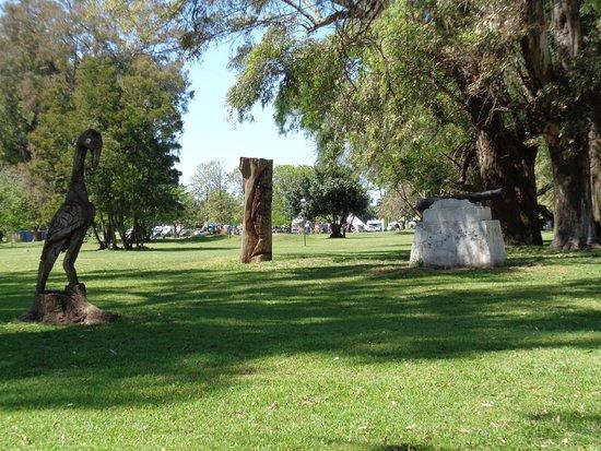 Chascomus, Argentina: Vista de un sector del extenso parque
