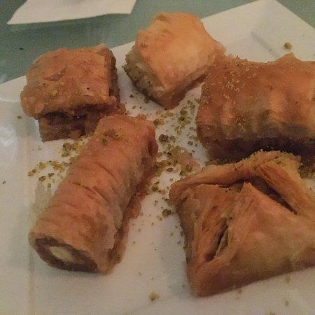 Mezze from Naya Mezze & Grill