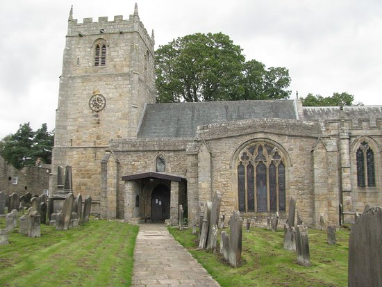 ‪‪Romaldkirk‬, UK: Historic Saint Romald Church‬