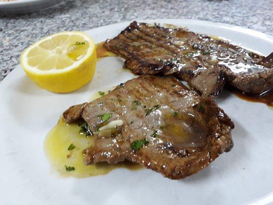 Monterosso Almo, อิตาลี: arrosto di carne presente nel menù domenicale