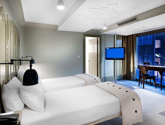 Twin Room at The Marmara Sisli Hotel Istanbul