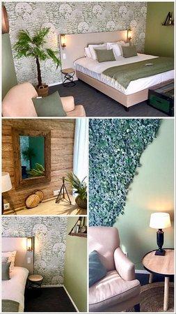 Santpoort-Noord, Belanda: Forest lodge patio room at Country Estate Duin & Kruidberg