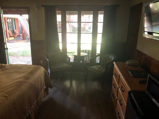 Kernville Inn: inside room 159.. King bed