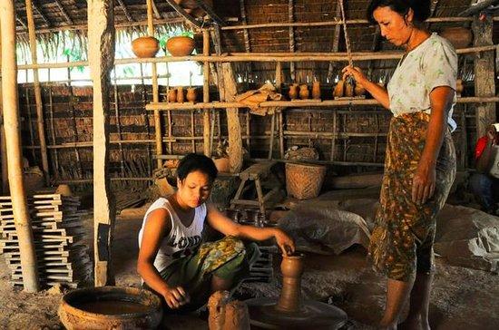 Tour rural de cerámica y de Myanmar...