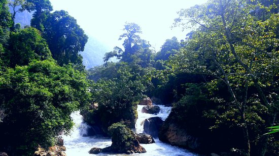 Ba Be National Park, เวียดนาม: Dau Dang waterfall