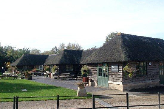 Barrington Court: Entrance and shop