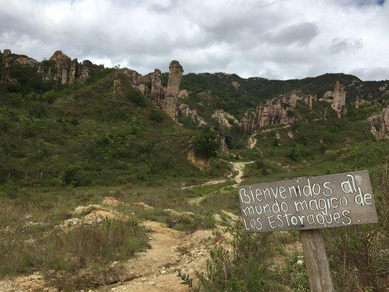 Departamento de Norte de Santander, Colombia: Área Única Los Estoraques