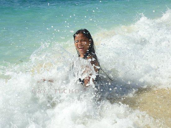 Balicasag Island, الفلبين: SPLASH!