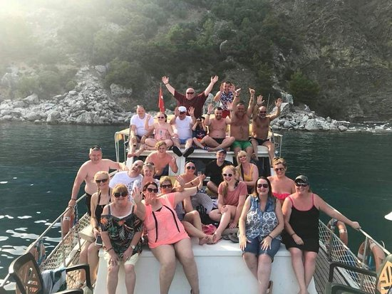 ‪Mehmet Kara - Sharkie Private Boat Trip Marmaris‬
