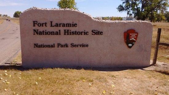 Fort Laramie, WY: Entrance