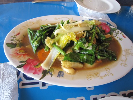 Don Kaeo, Thailand: 14野菜料理