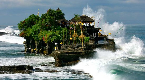 Sukawati, Indonezja: tanah lot temple