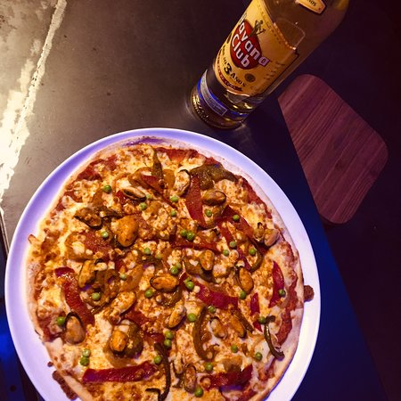 Rignac, França: Pizzas !