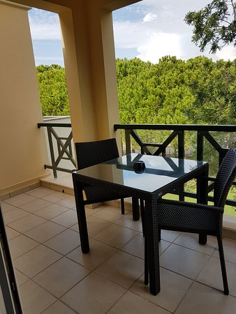 Adriana Beach Club Hotel Resort: Terrasse (chambre K 205 )