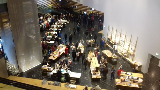 V&A Dundee: Awful ground floor - more like a jumble sale!