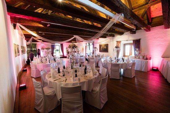 Schlossrestaurant Habsburg: Rittersaal - Hochzeitsfest