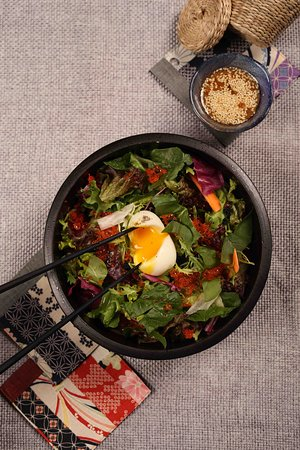 Eggs-plosion Salad