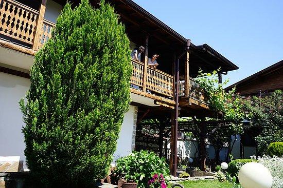 Hotel and summer garden
