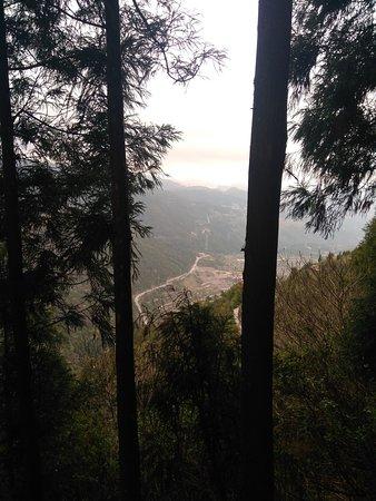 Pingyang County, Cina: тропинка наверх
