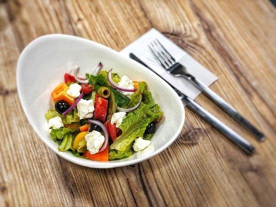 Kokshetau, كازاخستان: Греческий салат