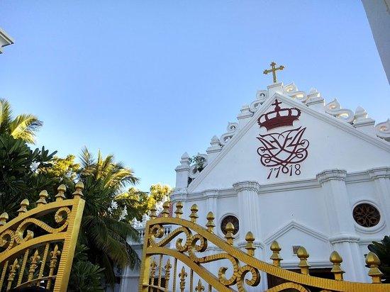 Tharangambadi, Ινδία: Entrance