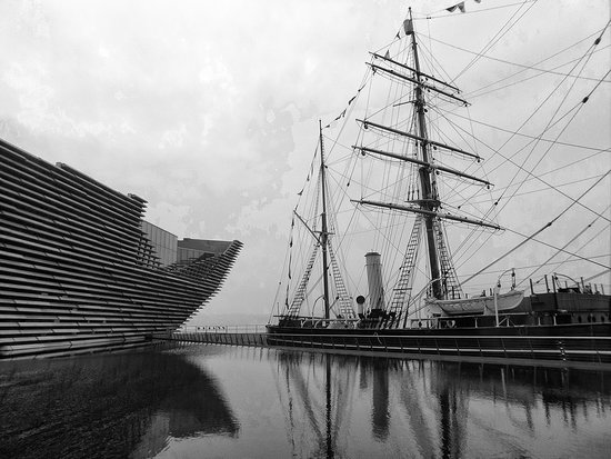 V&A Dundee: The Discovery next to the V&A