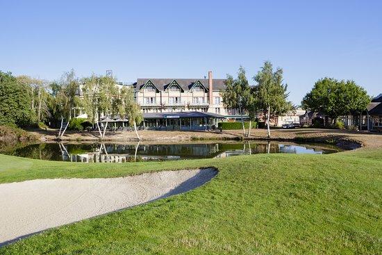 Ardon, Frankreich: Restaurant vue du golf
